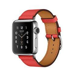 Apple Watch Series 2 Stainless Steel with Rose Jaipur Epsom Leather Single Tour 38mm