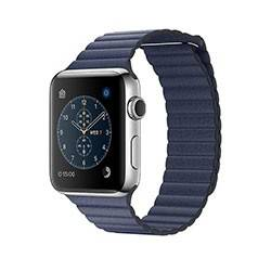 Apple Watch Series 2 Stainless Steel Case with Leather Loop 42mm - ساعت هوشمند اپل سری 2 42 میلیمتر
