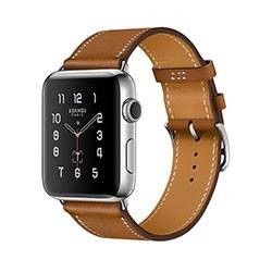 Apple Watch Series 2 Stainless Steel Case with Leather Single Tour 42mm - ساعت هوشمند اپل سری 2 42 میلیمتر