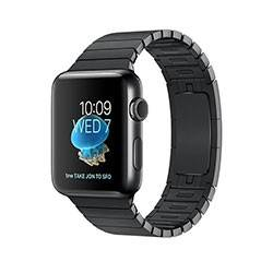 Apple Watch Series 2 Space Black Stainless Steel Case with Space Black Link Bracelet 42mm - ساعت هوشمند اپل سری 2 42 میلیمتر