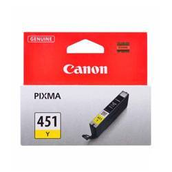 Canon CLI-451 Yellow Ink Cartridge - کارتریج کانن CLI-451 زرد