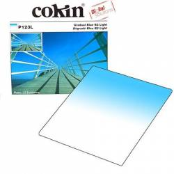 Cokin Gradual BLUE B2 LIGHT P123L Lens Filter - فیلتر لنز کوکین مدل Gradual BLUE B2 LIGHT P123L