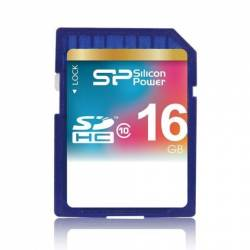 Silicon Power SDHC Class 10 16GB - کارت حافظه SDHC سیلیکون پاور کلاس 10 16 گیگابایت