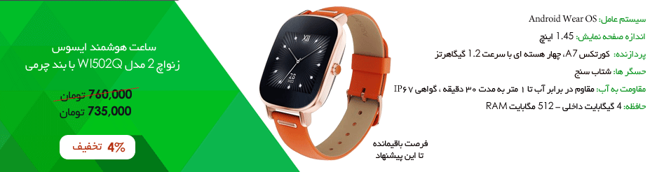 Asus Zenwatch 2 WI502Q Leather Band