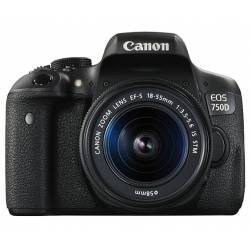 دوربین کانن EOS 750D (Kiss X8i/Rebel T6i) با لنز EF-S 18-55mm IS STM