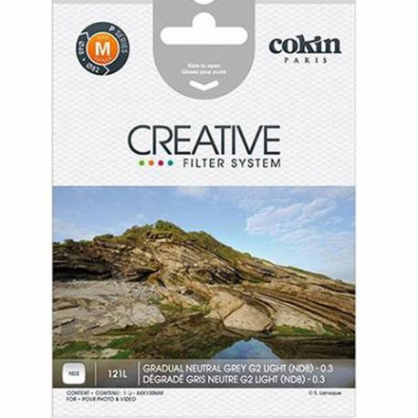 Cokin Grad Neutral Grey G2 Light ND2 Z121L Lens Filter