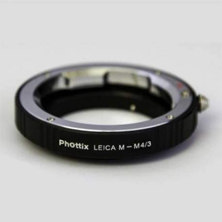 Phottix Adapter Ring Leica M lens to Micro 4/3